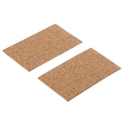 Купить Пункты 18x18 мм пробка цвет коричневый 30 шт. дешевле