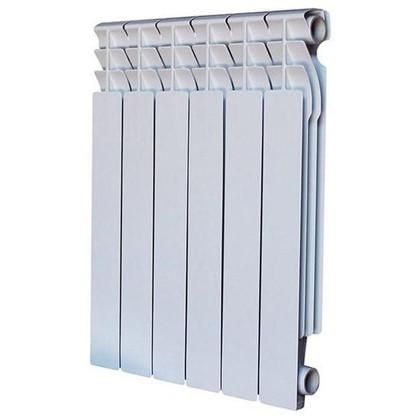 Биметаллический радиатор Monlan 500/80 6 секций