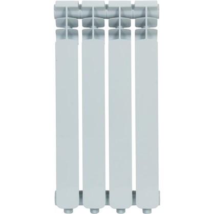 Алюминиевый радиатор Monlan 500/70 4 секции