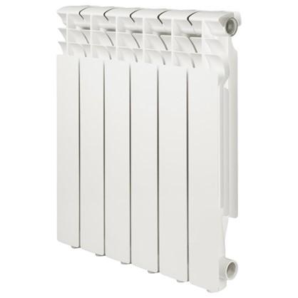 Алюминиевый радиатор Monlan 500/80 6 секций