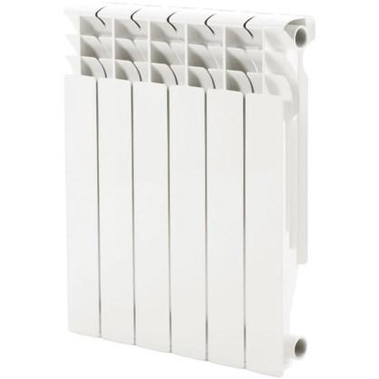 Алюминиевый радиатор Monlan 500/96 6 секций