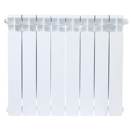 Биметаллический радиатор Rifar B 500 8 секций нижнее подключение
