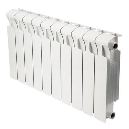 Биметаллический радиатор Rifar Monolit 10 секций боковое подключение 350 мм