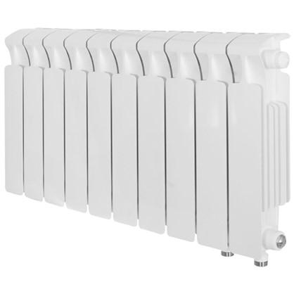 Биметаллический радиатор Rifar Monolit 350 10 секций нижнее правое подключение