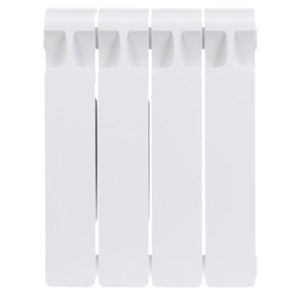 Купить Биметаллический радиатор Rifar Monolit 350 4 секции нижнее правое подключение дешевле
