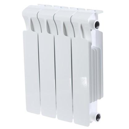 Биметаллический радиатор Rifar Monolit 350 4 секции нижнее правое подключение