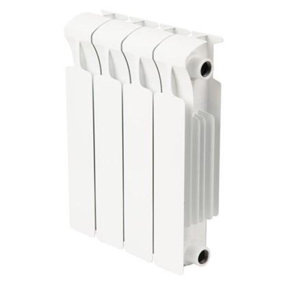 Биметаллический радиатор Rifar Monolit 4 секции боковое подключение 350 мм