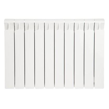 Биметаллический радиатор Rifar Monolit 500 10 секций боковое подключение