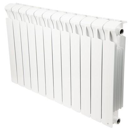 Биметаллический радиатор Rifar Monolit 500 12 cекций боковое подключение