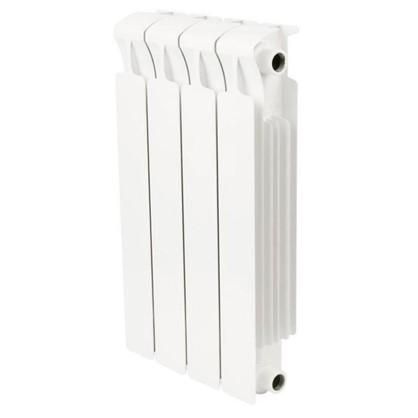 Биметаллический радиатор Rifar Monolit 500 4 секции боковое подключение