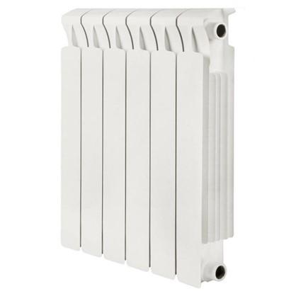Биметаллический радиатор Rifar Monolit 500 6 секций боковое подключение