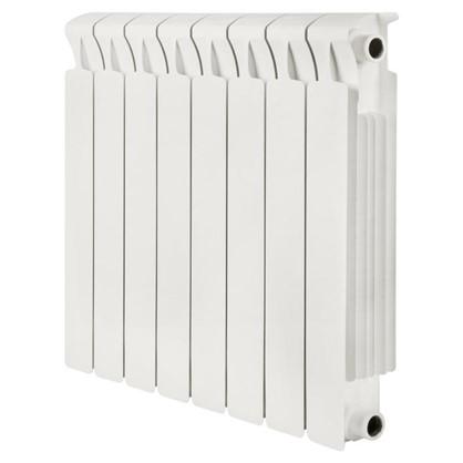 Биметаллический радиатор Rifar Monolit 500 8 секций боковое подключение