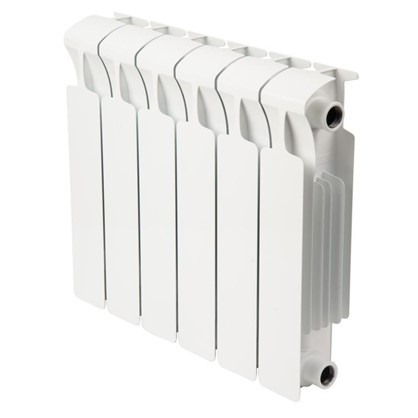 Биметаллический радиатор Rifar Monolit 6 секций боковое подключение 350 мм