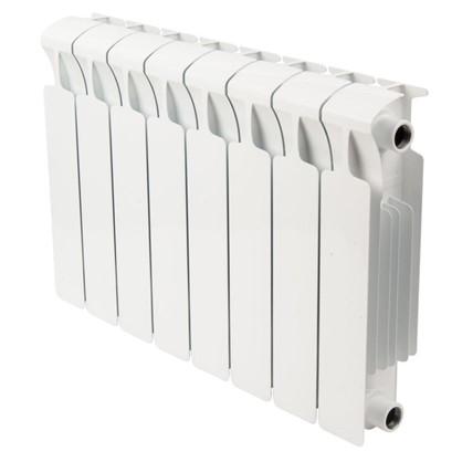 Биметаллический радиатор Rifar Monolit 8 секций боковое подключение 350 мм