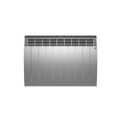 Купить Биметаллический радиатор Royal Thermo BIliner 500/10 Silver Satin дешевле