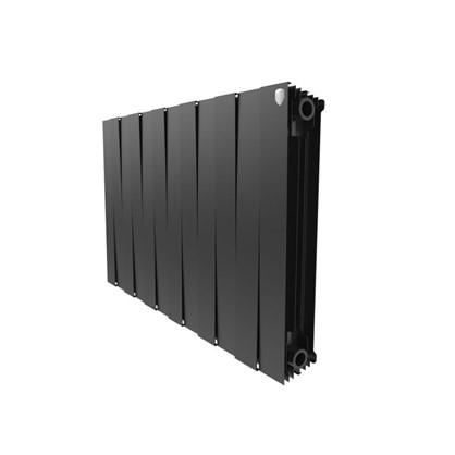 Биметаллический радиатор Royal Thermo Pianoforte 500/12 Noir Sable