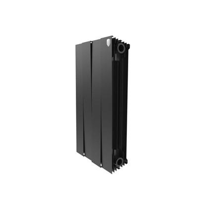 Купить Биметаллический радиатор Royal Thermo Pianoforte 500/4 Noir Sable дешевле