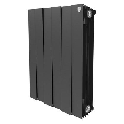Биметаллический радиатор Royal Thermo Pianoforte 500/6 Noir Sable