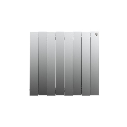 Биметаллический радиатор Royal Thermo Pianoforte 500/8 Silver Satin