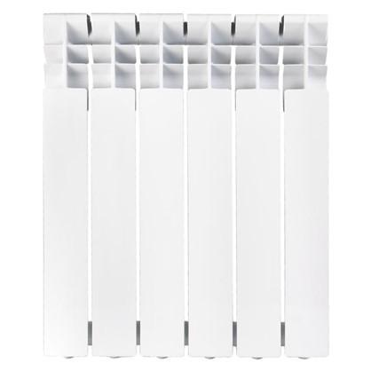 Алюминиевый радиатор Тепломир 500/96 6 секций