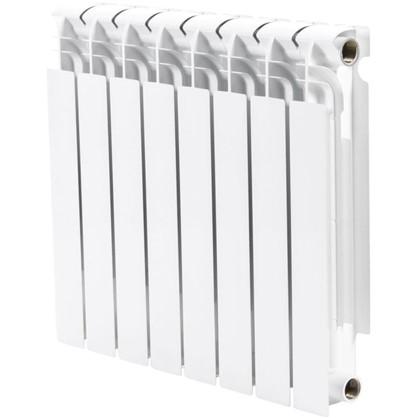 Биметаллический радиатор Тепломир 500/96 8 секций