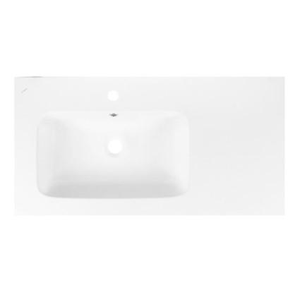 Купить Раковина для тумбы Эйфория левая 90 см эмалированная керамика цвет белый дешевле