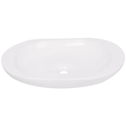 Купить Раковина для ванной круглая Лина керамика 41 см цвет белый дешевле