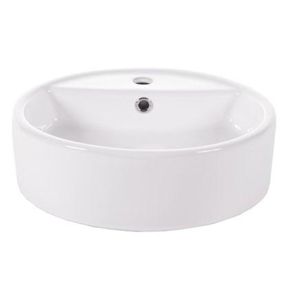 Раковина для ванной накладная Salsa Basin керамика 44 см цвет белый