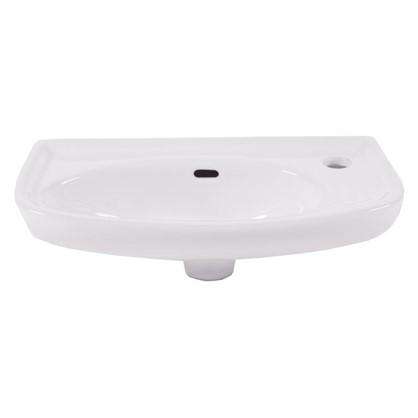 Купить Раковина для ванной прямоугольная Антонелла керамика 26 см цвет белый дешевле