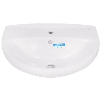 Купить Раковина для ванной Roca Виктория фарфор 46 см цвет белый дешевле
