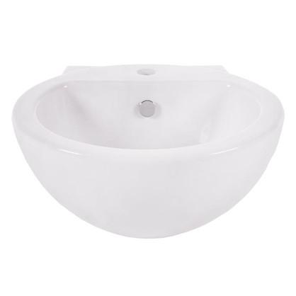 Купить Раковина для ванной Sanita Luxe Art фарфор 48 см цвет белый дешевле