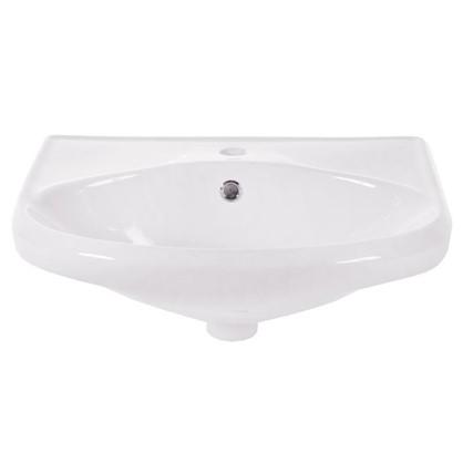 Раковина для ванной Sanita Самарская фарфор 44.5 см цвет белый