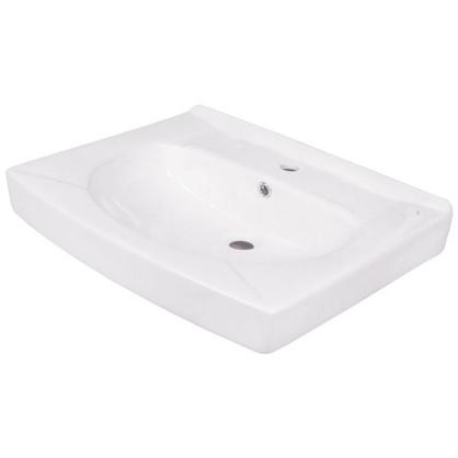 Раковина для ванной Santek Пилот на стиральную машину керамическая 50 см цвет белый