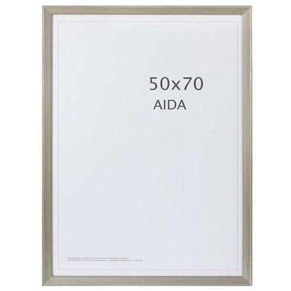 Купить Рамка Aida с патиной цвет серебро размер 50х70 дешевле