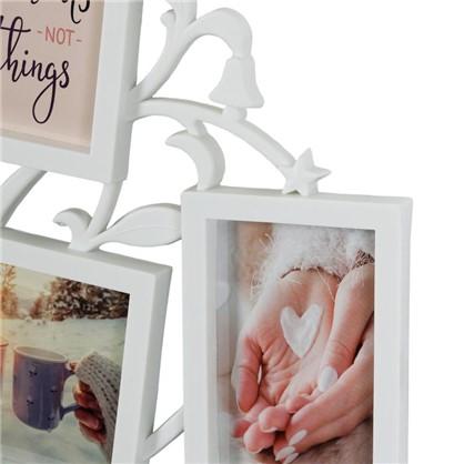 Рамка для 7-ми фотографий Древо жизни цвет белый