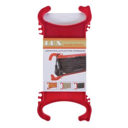 Рамка для провода Lux цвет красный