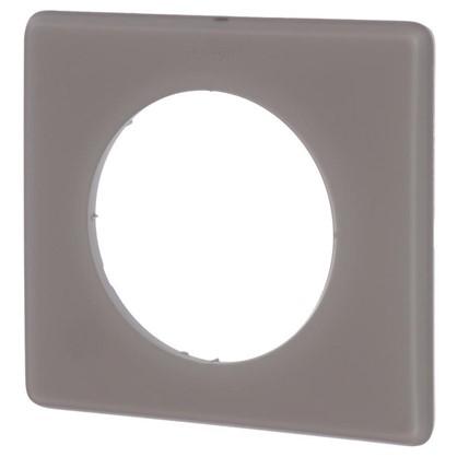 Купить Рамка для розеток и выключателей Celiane 2 1 пост цвет перкаль грэй дешевле