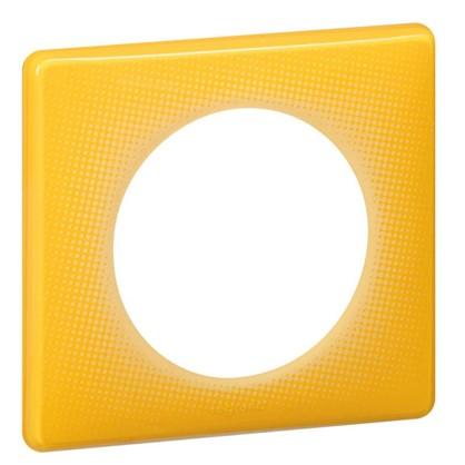Рамка для розеток и выключателей Celiane2 Муар 1 пост 2 модуля цвет песочный