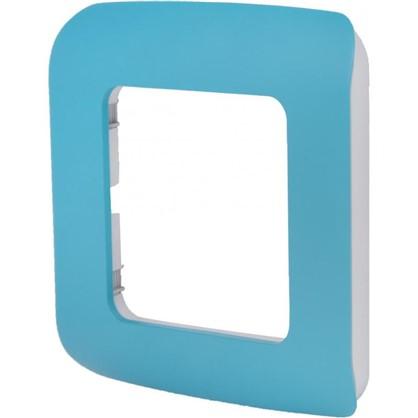 Купить Рамка для розеток и выключателей Cosy 1 пост цвет темная бирюза дешевле