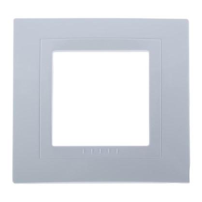 Рамка для розеток и выключателей Schneider Electric Unica 1 пост цвет белый