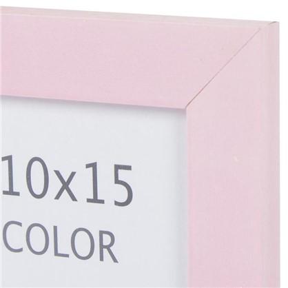 Купить Рамка Inspire Color 10х15 см цвет розовый дешевле