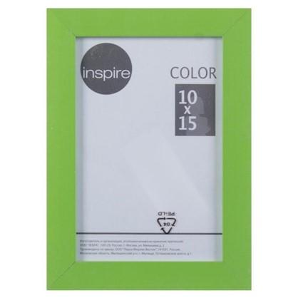 Купить Рамка Inspire Color 10х15 см цвет зеленый дешевле