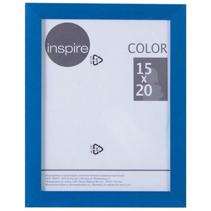 Рамка Inspire Color 15х20 см цвет синий
