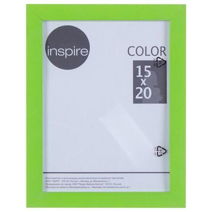 Рамка Inspire Color 15х20 см цвет зеленый