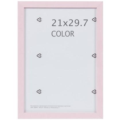 Купить Рамка Inspire Color 21х297 см цвет розовый дешевле