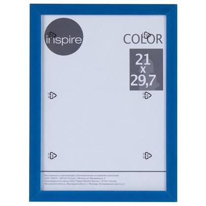 Рамка Inspire Color 21х297 см цвет синий