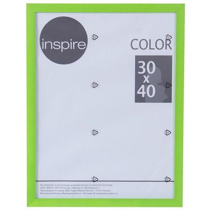 Рамка Inspire Color 30х40 см цвет зеленый