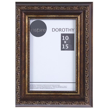 Рамка Inspire Dorothy цвет коричневый размер 10х15