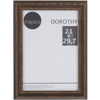 Рамка Inspire Dorothy цвет коричневый размер 21х297