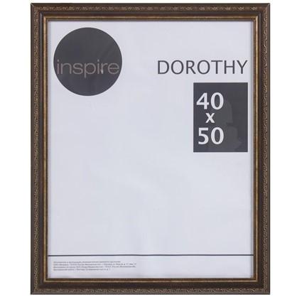 Купить Рамка Inspire Dorothy цвет коричневый размер 40х50 дешевле